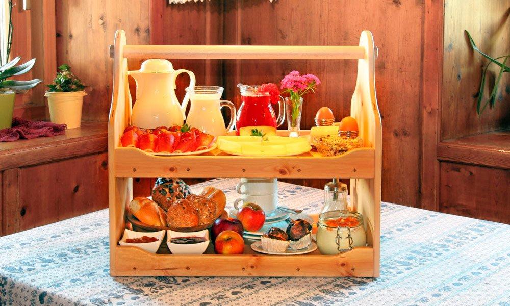 Bauernhoffrühstück genießen – Frühstücksraum am Planatschhof