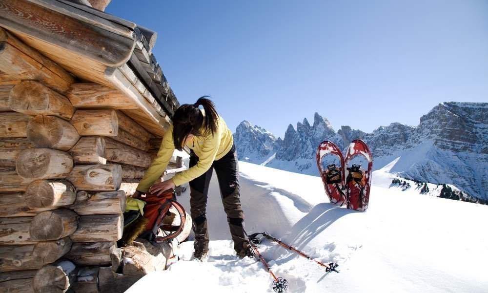 Schneeschuhwandern am Planatschhof