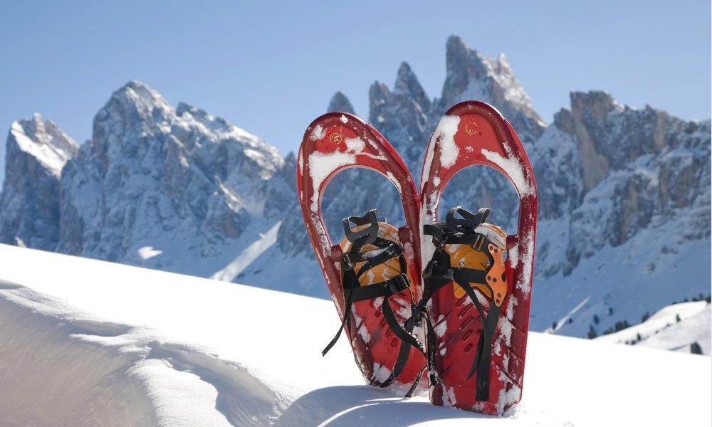 Attività invernali nei dintorni dell'agriturismo avventura in Alto Adige