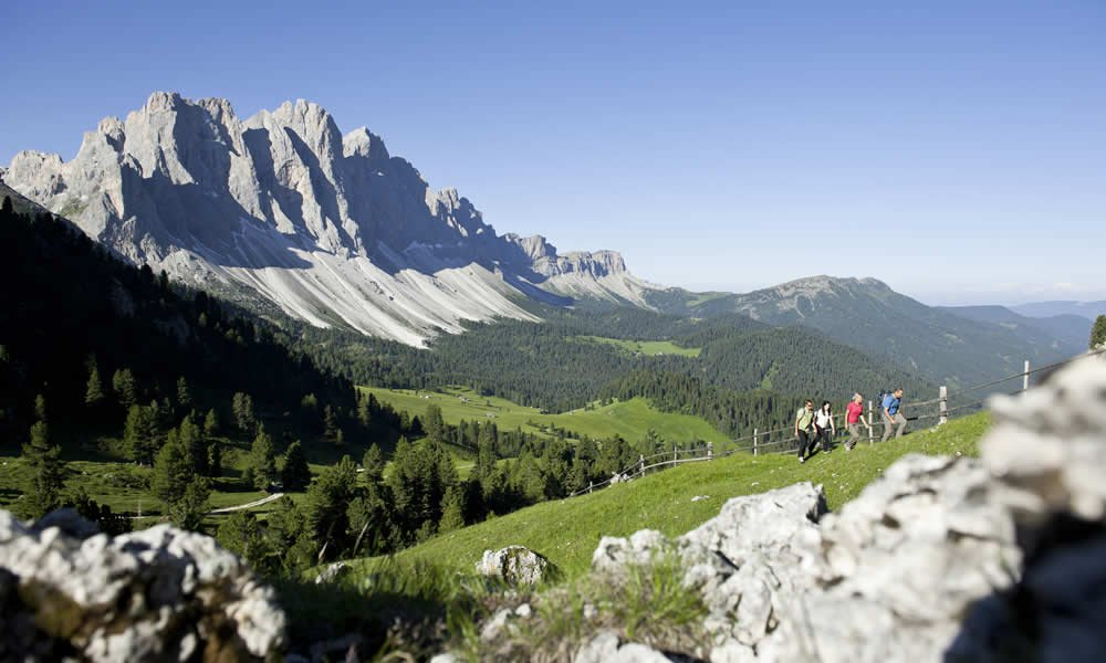 Live the autumn during a hiking vacation in the Dolomites