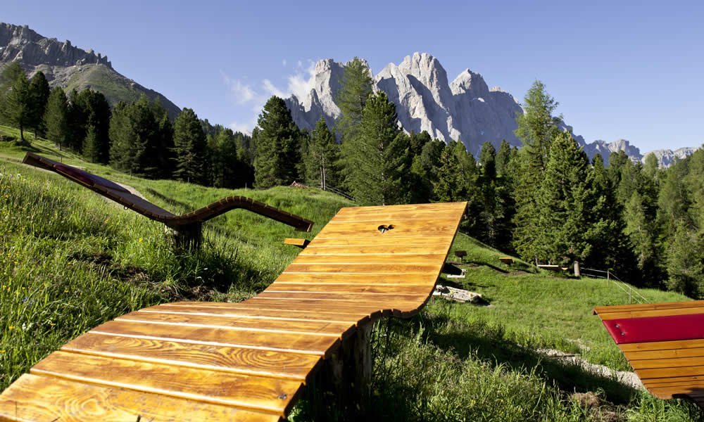 Alpine wellness in the close proximity of the adventure farm South Tyrol